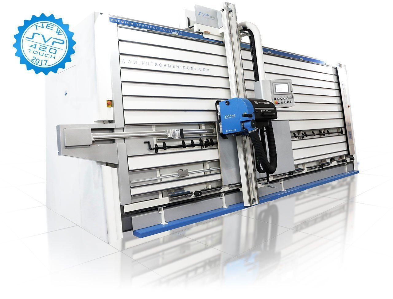 Vertical panel saw for wood SVP 420 AUTOMATIC TOUCH