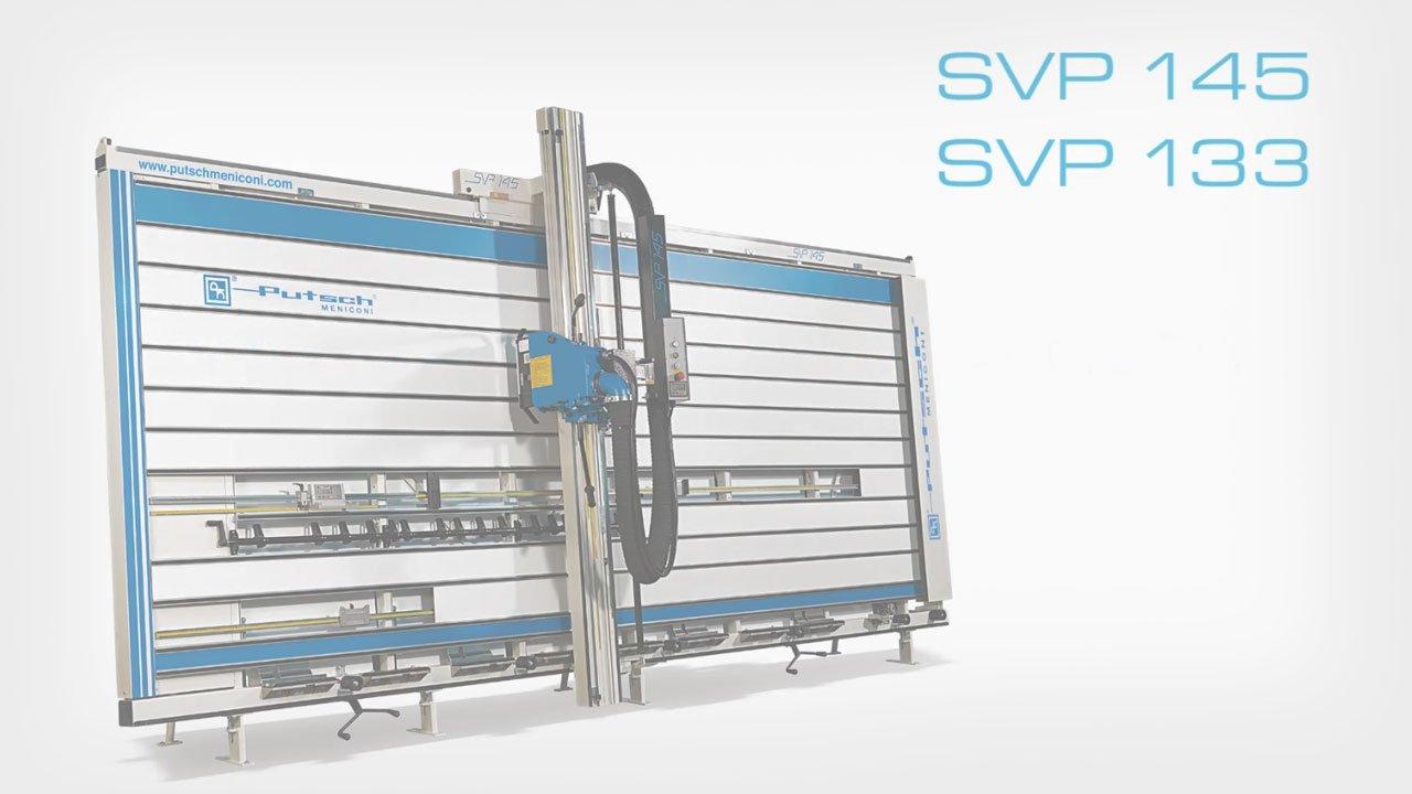 Sezionatrici verticali manuali e automatiche SVP 133 e SVP 145 Putsch Meniconi