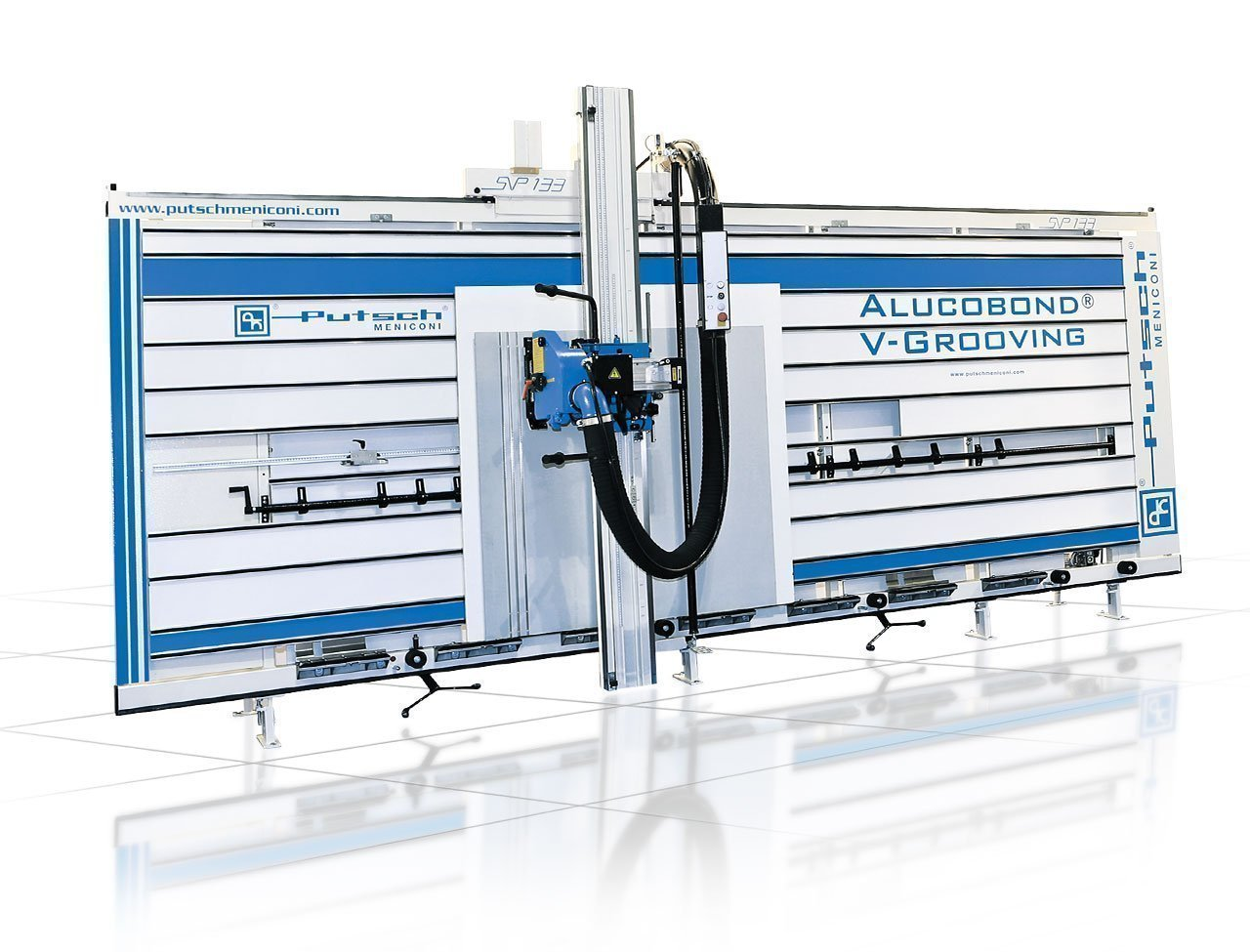 Alucobond vertical cutting machine
