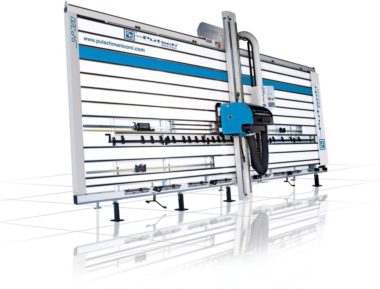 sezionatrice verticale per legno