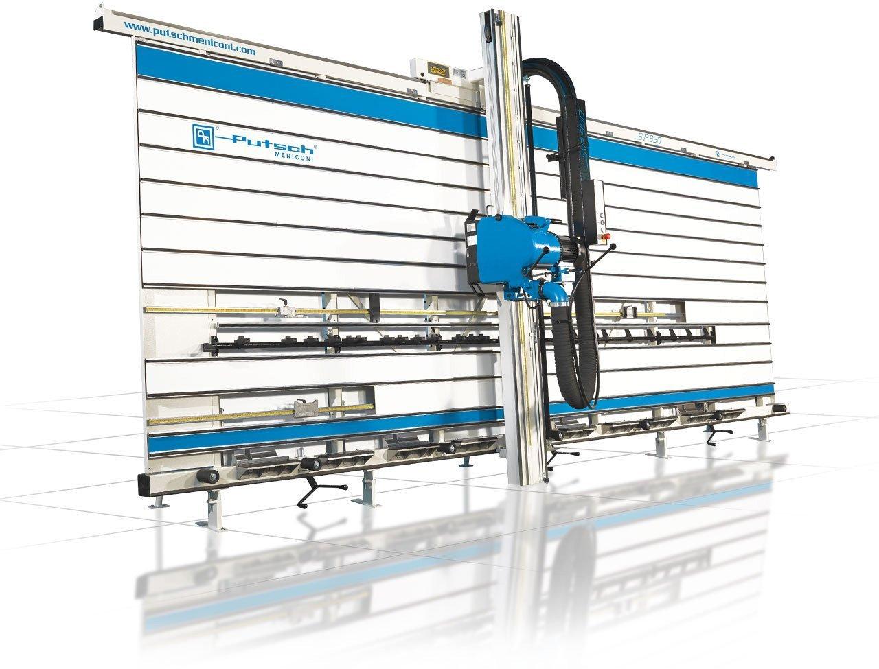 Sezionatrice verticale manuale per legno