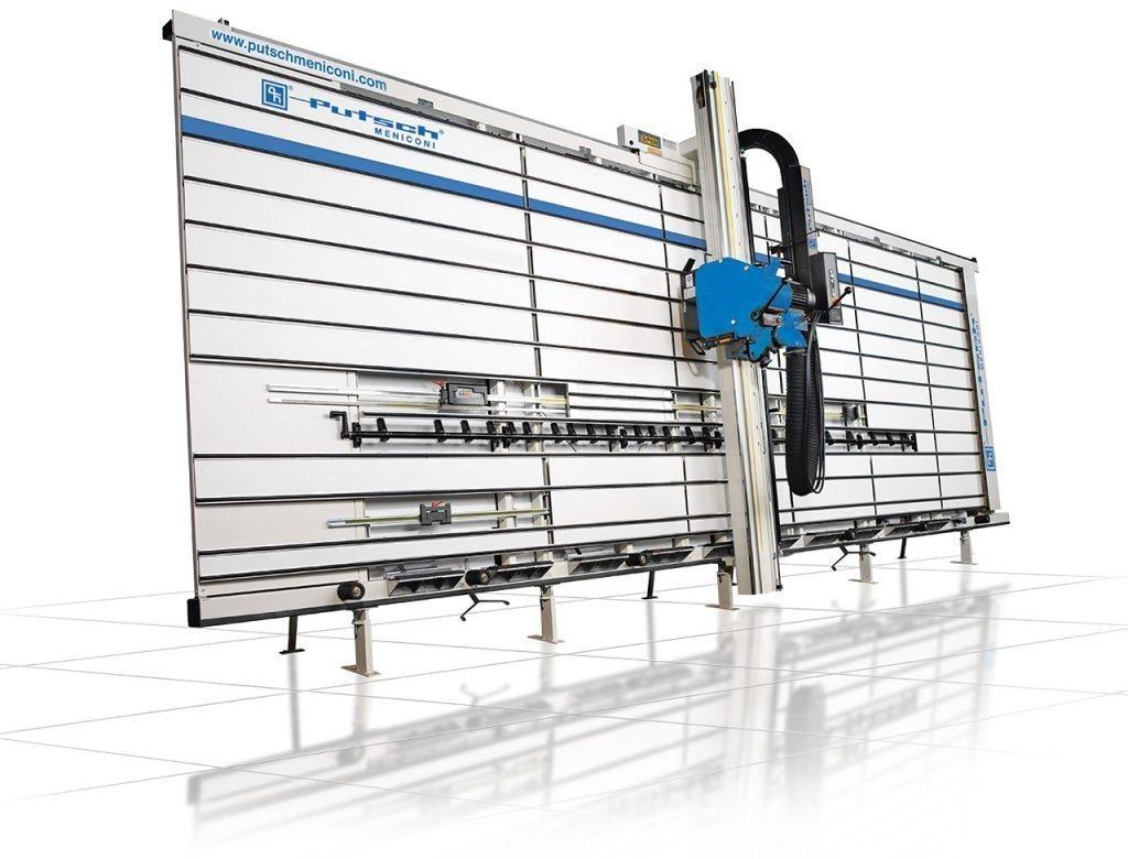Sezionatrice verticale automatica taglio materiali