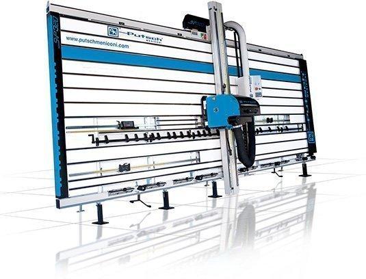 Squadratrice verticale per legno automatica SVP 320