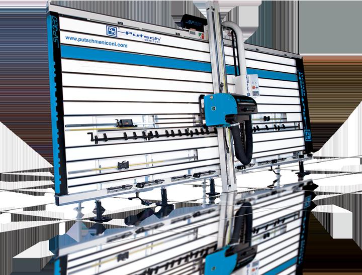 Machine verticale coupe bois SVP 320 Putsch Meniconi