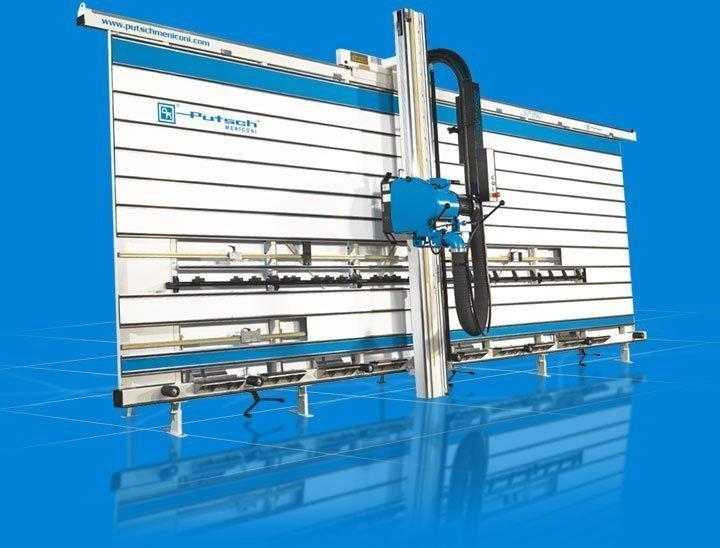 Seccionadora vertical corte paneles SVP 950 Putsch Meniconi