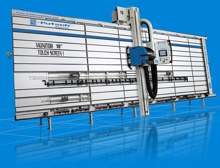Sierra vertical automática SVP 980 AT Putsch Meniconi