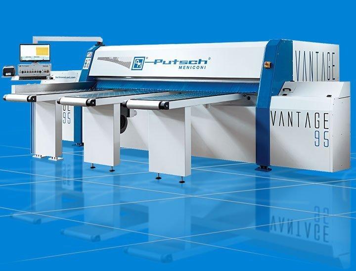 Horizontal squaring machine Putsch Meniconi Vantage 95