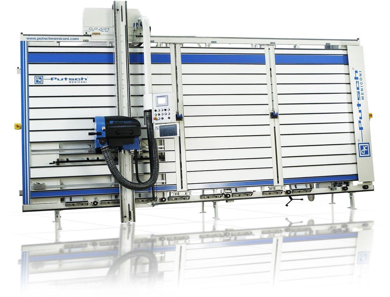 Vertical squaring machine SVP 420 CS TOUCH Putsch Meniconi