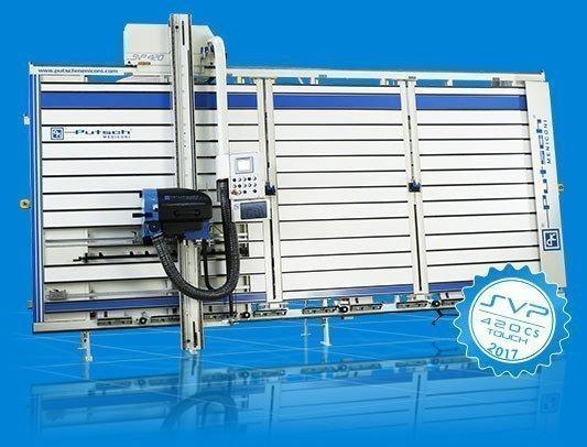 Machine à couper le bois verticale automatique SVP 420 CS