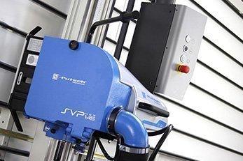 La sezionatrice verticale SVP 145 plus ha la migliore capacità di taglio