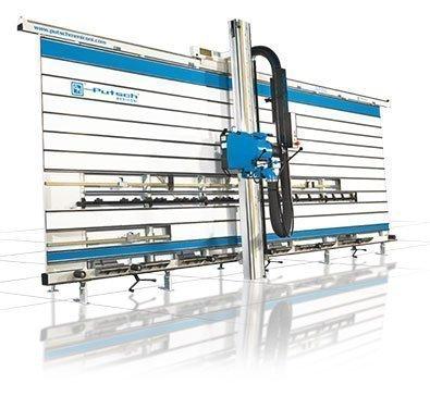 vertical cutting panel saws SVP 950 Manual Putsch Meniconi