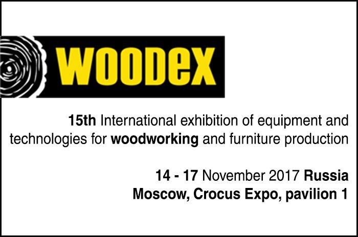 La Fiera Woodex di Mosca con la partecipazione di Putsch Meniconi