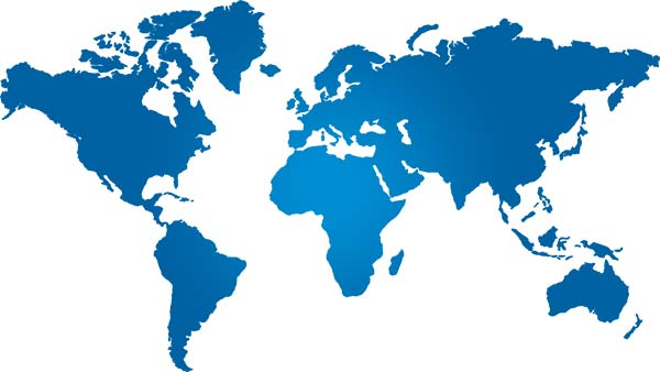 Putsch Meniconi guarantees a Worldwide presence in all 5 continents
