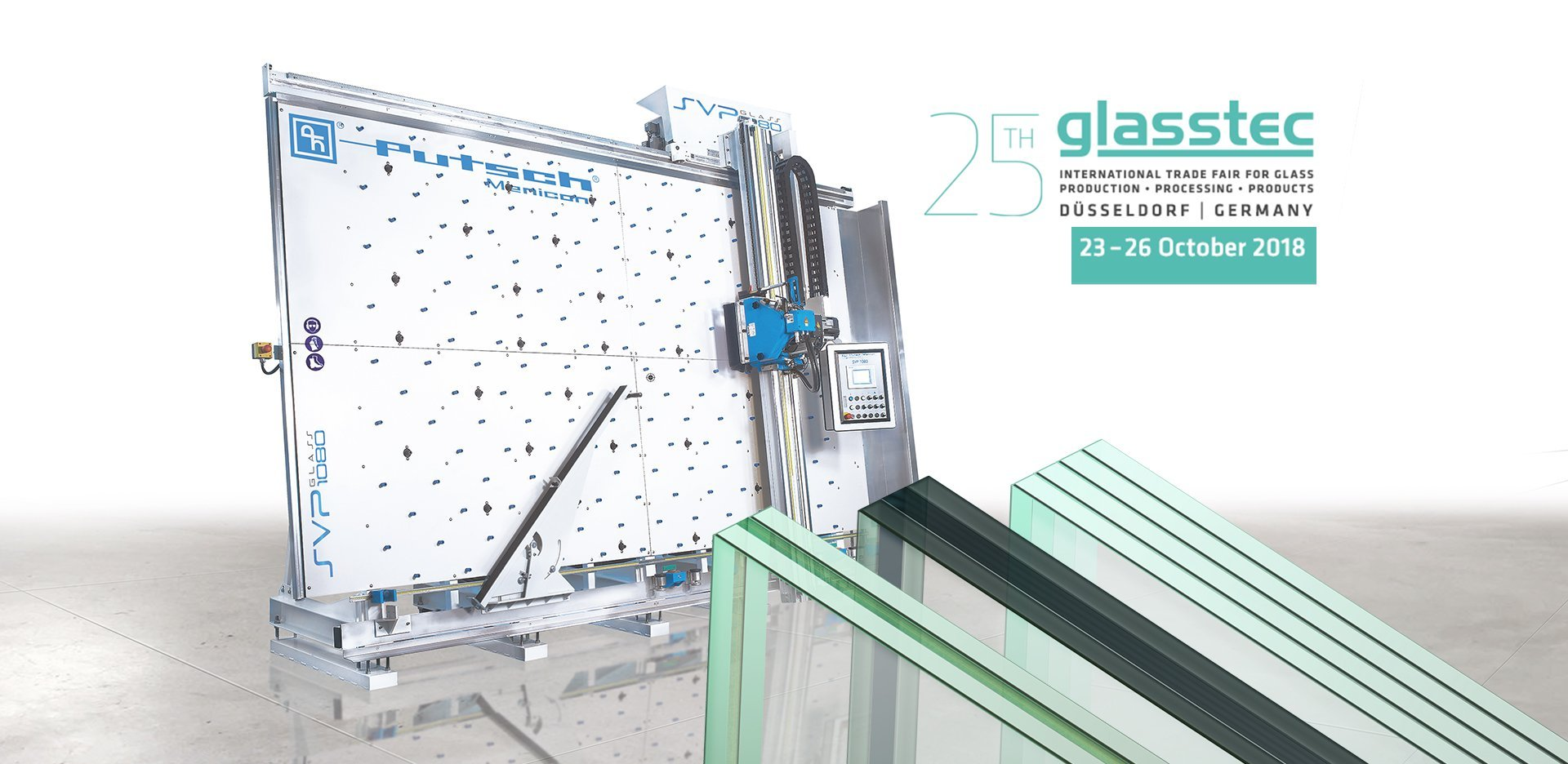 25° Glasstec Düsseldorf Germany