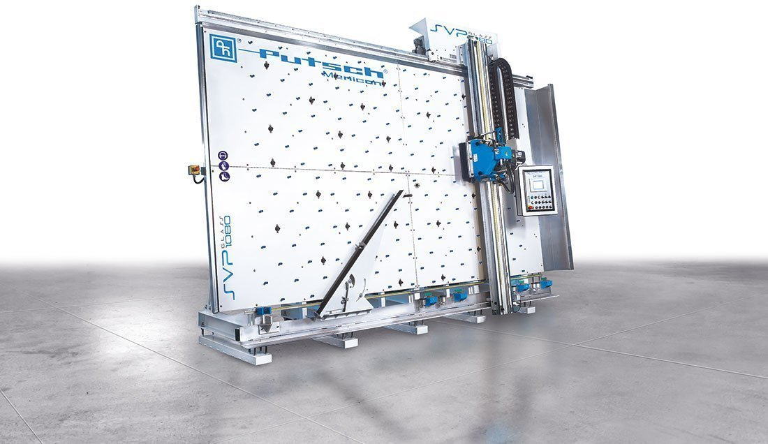 Seccionadora vertical para vidrio Putsch Meniconi SVP 1080